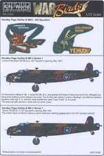 Kits World Decals 1/72 HANDLEY PAGE HALIFAX Mk.V London's Revenge & Yehudi