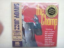 DIZZY GILLESPIE - THE CHAMP - Limited Edition DENON - Mini LP - Japan