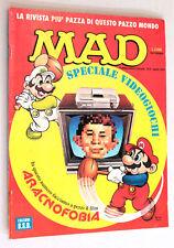 MAD n. 4 SPECIALE VIDEOGIOCHI Aprile 1991 BSD
