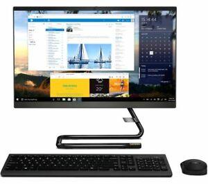 """Lenovo IdeaCentre 3i AIO 24"""" All-in-One PC Intel Core i5 8GB RAM 256GB SSD Black"""