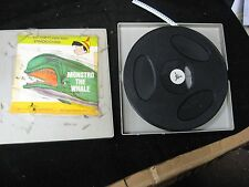 Vintage Disney Monstro the Whale & Terrytoons Dinky Duck 8mm Film w/ Hard Case
