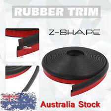 3M Z-Shape Door Edging Rubber Seal Strip Edge Trim Car Van Camper Tractor Cover