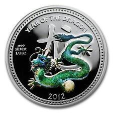 Niue 2012 Lunar  Pearl Dragon Coin in Egg Box 1/2 oz Proof Silver Coin