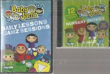 Baby Jamz Daily Lessons & Jamz Sessions DVD & Nursery Rhymes CD vol 2 New