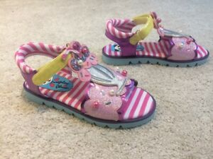 Irregular Choice /'Treasure Island/' A Kids Girls Summer Sandals Shoes