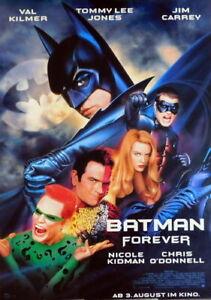 BATMAN FOREVER original Kino Plakat A1 gerollt 1995