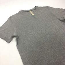 PAUL SMITH Red Ear Village Industries T-shirt Heather Gray L Large 100% Cotton
