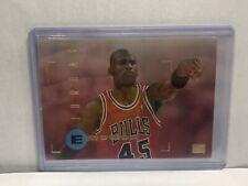 1995-96 Skybox Emotion #100 Air Michael Jordan Chicago Bulls
