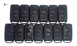 Lot x 13 OEM Mercedes Keyless Entry Flip Key Remote Transmitter Used KR 55
