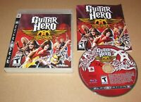 Guitar Hero: Aerosmith for PlayStation 3 PS3 Complete Fast Shipping