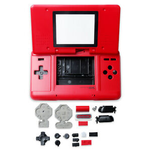 Housing Case Shell Cover+Buttons Screws Dustproof Parts for Games NDS DS Console