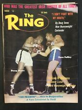 The Ring Boxing Magazine March 1963 Doug Jones