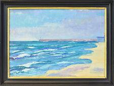 Künstlerische im Impressionismus-Stil mit Seefahrt- & Schiff-Motiv