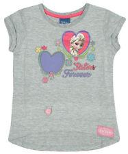 T-shirt gris Disney pour fille de 2 à 16 ans