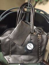 Dulcedo Pewter Purse  3 in 1 NWT with removable strap
