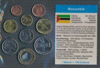 Mosambik 2006 Stgl./unzirkuliert 2006 1 Centavo bis 10 Meticals (9030241