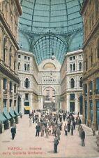 Napoli – Interno della Galleria Umberto – Naples – Italy