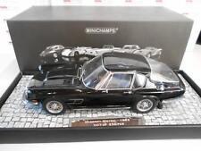 MIN107123421 by MINICHAMPS MASERATI MISTRAL BLACK 1963 1/18