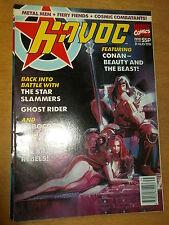 HAVOC MARVEL COMICS #8 31 AUGUST 1991 BRITISH WEEKLY ROBOCOP GHOST RIDER CONAN^