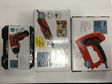 Wilko Multi Tool Kit & Cordless Screwdriver Kit & Electric Stapler/nailer