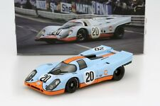 Norev Porsche 917 K Gulf 24h LeMans 1970 #20 Siffert/Redman 1/18 LE of 2000 New!