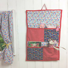 GIRLS GARDEN FLOWERS PLAYHOUSE WALL ORGANISER - STORAGE