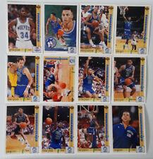 1991-92 Upper Deck Minnesota Timberwolves Team Set 15 Basketball Cards