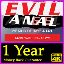 EvilAngel Network Subscription with 4K Video Download Money Back Guarantee