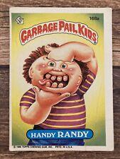 ⭐️ Garbage Pail Kids 1986 Handy Randy Topps Card 🎏