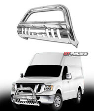 FOR 2012-2018 NV1500/NV2500/TITAN XD SS CHROME BULL BAR PUSH BUMPER GRILLE GUARD