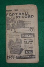 1959 VFL Preliminary Final football record, Essendon v Carlton, September 19
