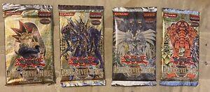 dark revelation 4 yugioh Sealed Pack lot including dark revelation 1 2 3 Packs