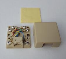 RJ12 Socket MMJ Offset Tab PIN mise en page 6p6c Support Mural Vis Auto-adhésif
