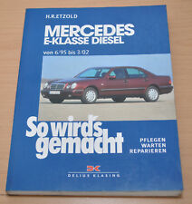 MERCEDES E-Klasse Diesel W201 T-Modell Limo ab 95 Reparaturanleitung SWG 104
