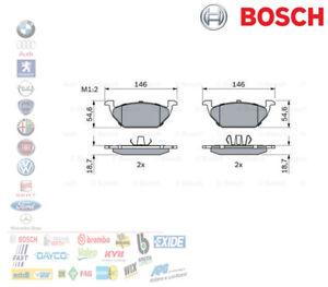 PASTIGLIE FRENO AUDI A1 A3 VW GOLF V POLO SEAT IBIZA IV 1.6 1.9 BOSCH 0986424364