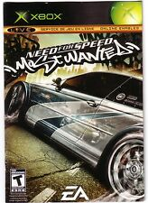 xbox Need for Speed: Most wanted REPLACEMENT french manual ONLY (NO GAME)