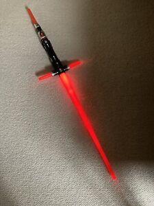 Star Wars Bladebuilders Kylo Ren Light-up Lightsaber Red Hasbro