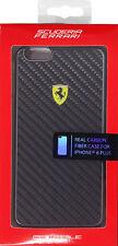 Ferrari Real Carbon Fiber Hard Case for iPhone 6/6S Plus - Black (FESCCBHCP6LBL)