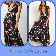 🌺TULAROSA Sid Wrap Floral PETITES Dress. See Alterations $345 XS Reformation