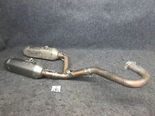 Honda CRF450 2015-2016 Used Akrapovic complete twin exhaust system CR3080