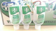 7x Travel Sanitiser Pocket Antibacterial Sanitizer Cleanser Hand Gel Instant Bag