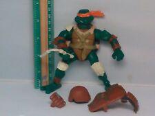 2005 TMNT Teenage Mutant Ninja Turtles Michelangelo Mike Paleo Patrol Figure Toy