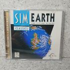 Simearth The Living Planet Pc 1990 Vintage Retro Computer Simulation Game