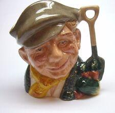 """Vintage Royal Doulton Medium Toby Mug The Gardener 4"""" Tall D6634"""