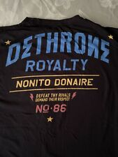 Dethrone Nonito Donaire Boxing T-shirt XL Boxing Philippines fight mma ufc