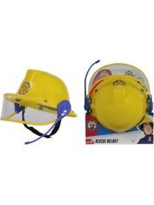 Fireman Sam Rescue Yellow Helmet With Microphone 48-53 cm