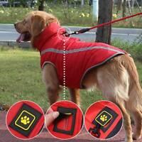 Medium and large dog dog coat waterproof winter vest warm jacket hot Sale XL-6XL