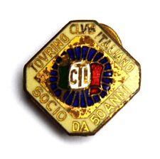 Distintivo Touring Club Italiano – Socio Da 50 Anni (Bertoni Milano)