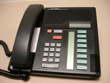 10 Refurbished Black Norstar M7208 Phones, Nortel (NT8B30), Northern Telecom