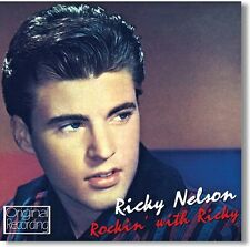 CD RICKY NELSON ROCKIN' WITH RICKY MIGHTY GOOD MILK COW BLUES THERE GOES MY BABY